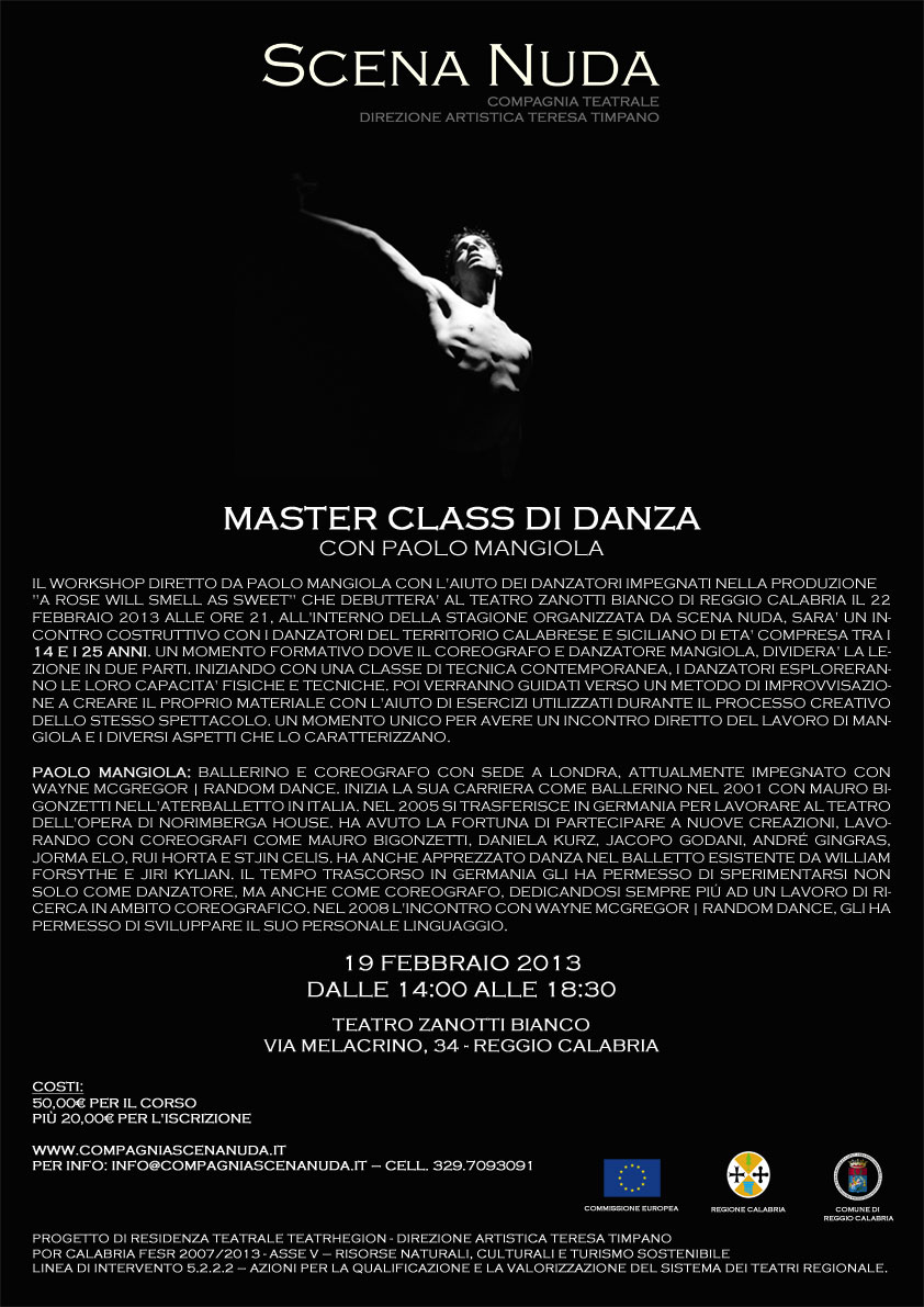 Masterclass di danza